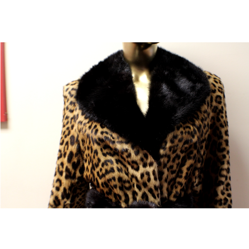 Vintage Leopard Skin